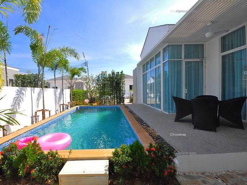 บ้านพักชะอำ มีสระว่ายน้ำส่วนตัว