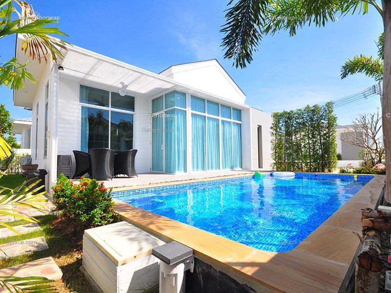 ปาร์ตี้ วิลล่า ชะอำ บี Party Villa Cha Am B บ้านพักชะอำ จังหวัดเพชรบุรี
