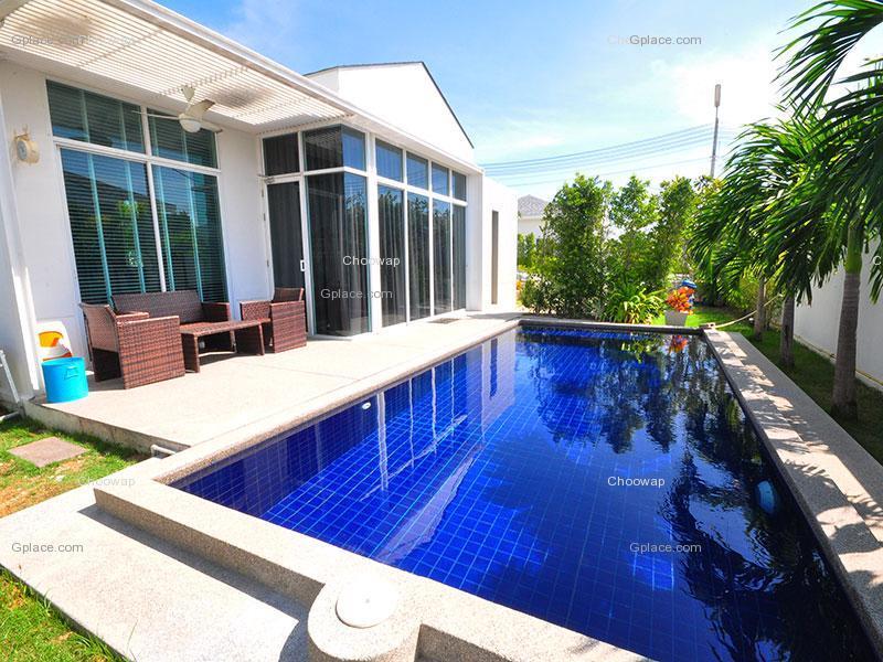 สนุกดี วิลล่า ชะอำ Sanookdee Villa Cha-am บ้านพักชะอำ จังหวัดเพชรบุรี