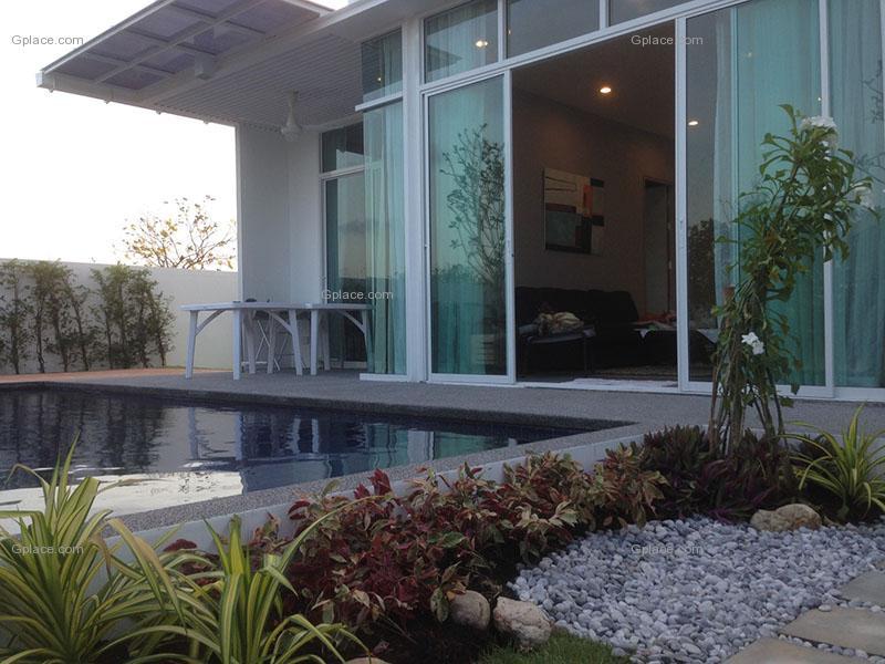 วิลล่า เดอ พูล ชะอำ Villa De Pool Cha-am บ้านพักชะอำ จังหวัดเพชรบุรี